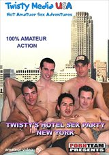 Twisty's Hotel Sex Party-NYC