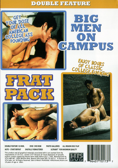 Big Men on Campus The Fraternity Cover Back