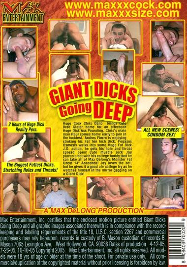 Giant Dicks Going Deep Cover Back