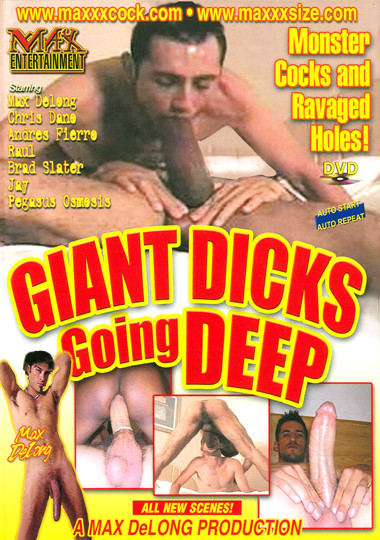 Giant Dicks Going Deep Cover Front