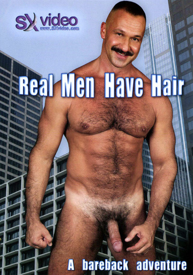 Real Men Have Hair Cover Front
