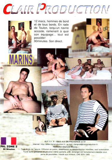 Marins aka Marines Cover Back