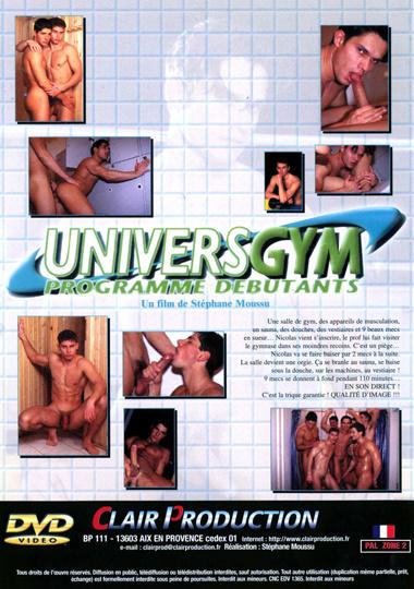 Univers Gym Programme Debutants aka Exercising Peter Cover Back