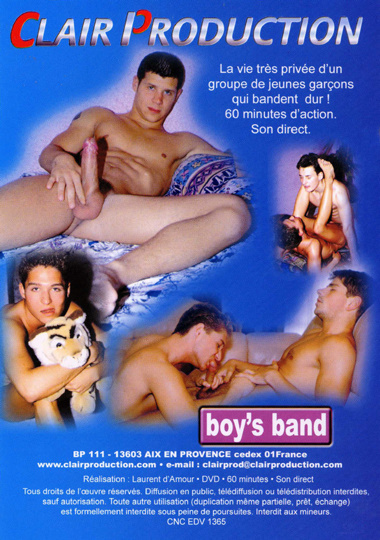 Boys Band Cover Back