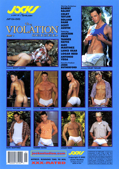 The Violation 1 Seized Cover Back