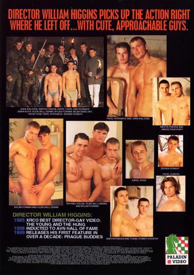 Prague Buddies 1 Cover Back
