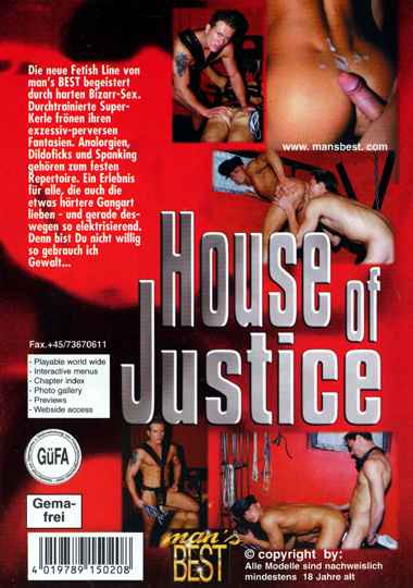 A House of Justice Cover Back