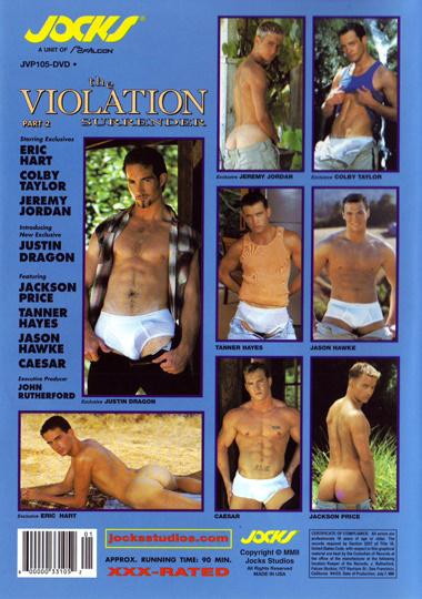 The Violation 2 Surrender Cover Back