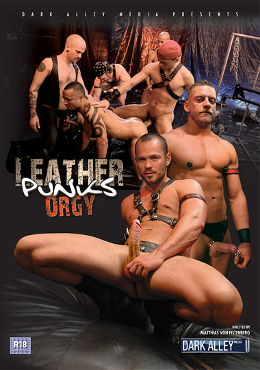 Leather Punks Orgy Cover Front