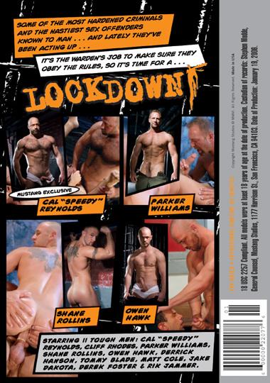 Lockdown Cover Back