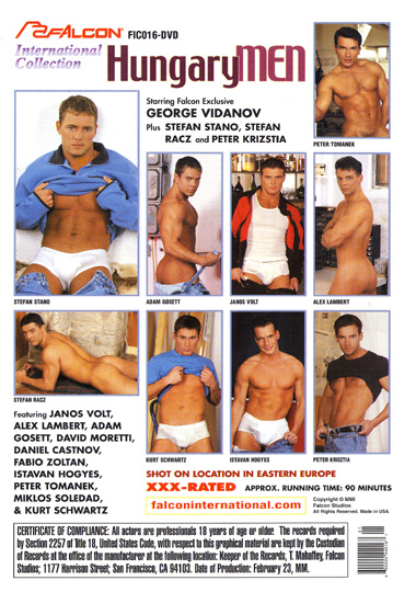 Hungary Men Cover Front