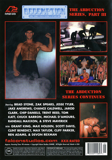 The Abduction 3 Redemption Cover Back
