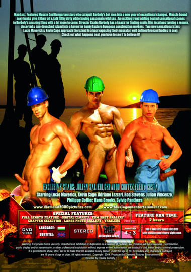 Man Lust 1 Island Treasure/Construction Island Cover Front