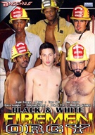 Black And White Fireman Orgy