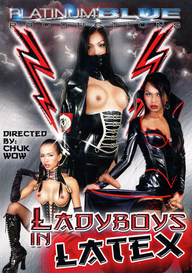 Ladyboy In Latex cover