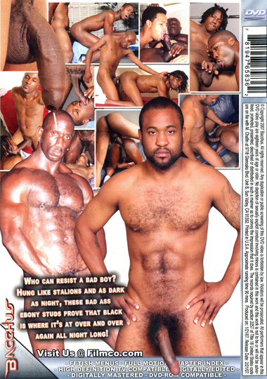 Bad Ass Black Men 5 Cover Back