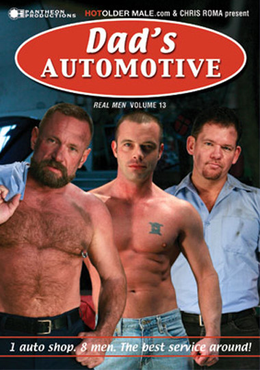 Real Men 13 Dads Automotive Cover Front