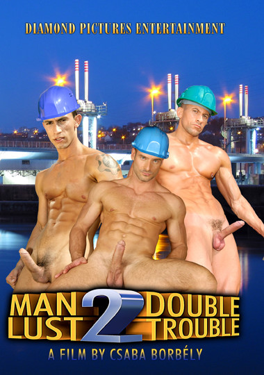 Man Lust 2 Double Trouble Cover Front