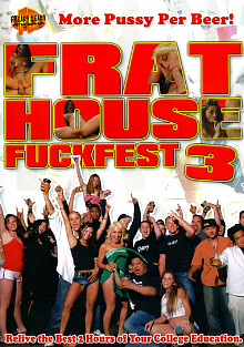 Frat House Fuckfest 3 cover