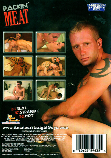Amateur straight guys packin meat