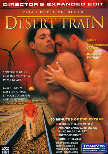 Desert Train Cover Front