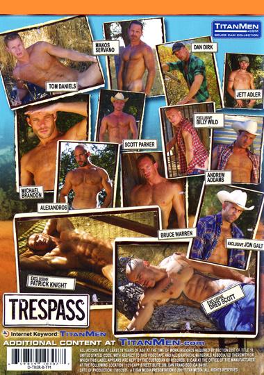 Trespass (Dvd 1) Cover Back