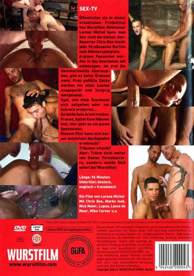 Sex-TV Cover Back