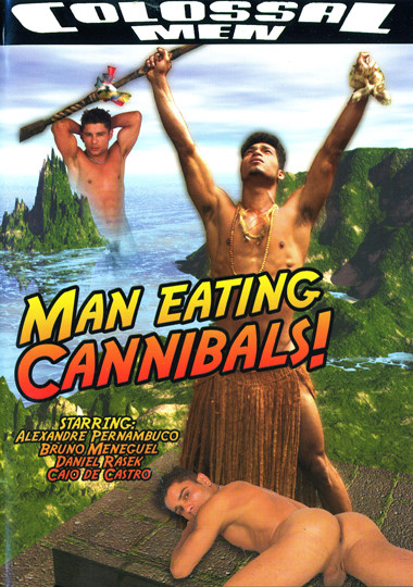 Man Eating Cannibals Cover Front
