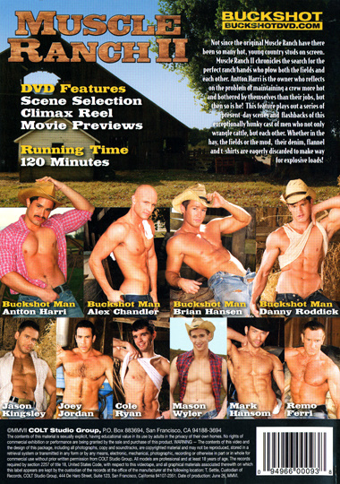 Muscle Ranch 2 Cover Back