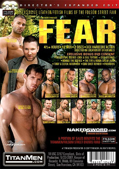 Fear Cover Back