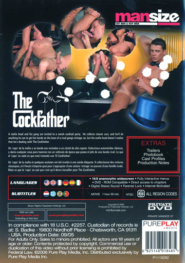 Mansize 07 The Cockfather Cover Front