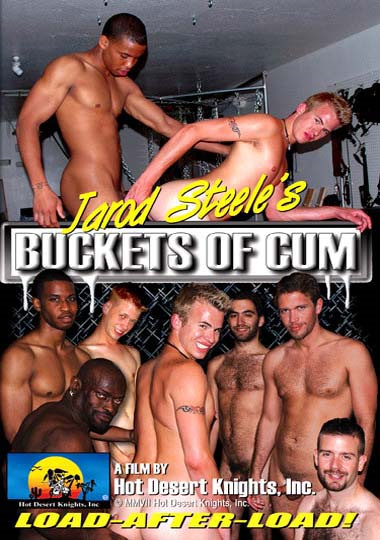 Jarod Steele's Buckets Of Cum cover