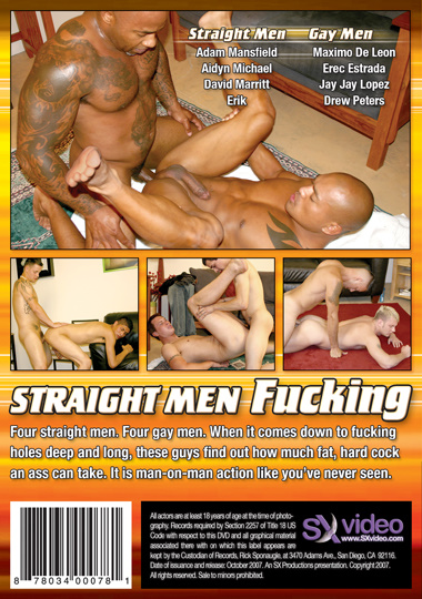 Straight Men Fucking Cover Back