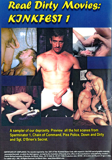 Real Dirty Movies Kinkfest 1 Back Cover