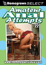 Amateur Anal Attempts 22