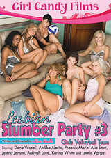Lesbian Slumber Party 3: Girls Volleyball Team