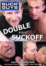 Double P O V  Suckoff Xvideo gay