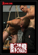Bound In Public: Young Stud Is Bound For The First Time At Mr  S Leather Xvideo gay