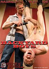 Backyard Boys Xvideo gay