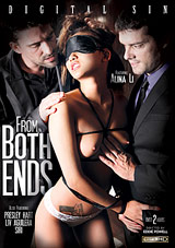 From Both Ends - rough sex threeway porn movie with alina li