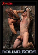 bound gods power play, dirk caber, damien moreau, gay fetish, gay bdsm, gay leather