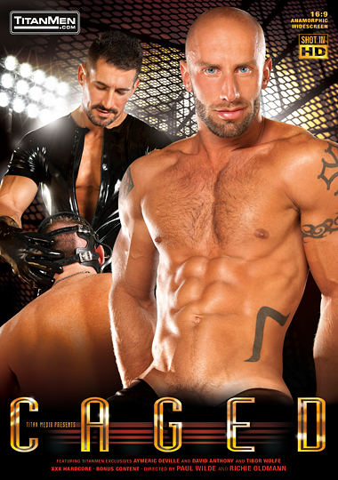 TitanMen Caged - Titan Media - gay porn, gay fetish porn, fisting, pissing fetish, gay muscles, extreme penetration