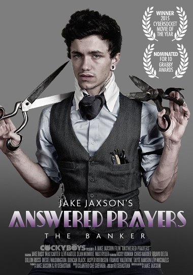 Answered Prayers: The Banker (episode one), Jake Bass, Ricky Roman, Cockyboys, gay alt porn