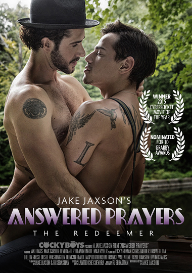 Answered Prayers: The Redeemer, Cockyboys, gay alt porn, Dean Monroe, Jake Bass, Levi Karter, Max Carter