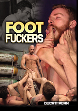 foot fuckers, gay fetish, jessie colter, foot play
