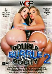 "Featured Category - Anal presents the adult entertainment movie ""Double Bubble White Booty 2""."