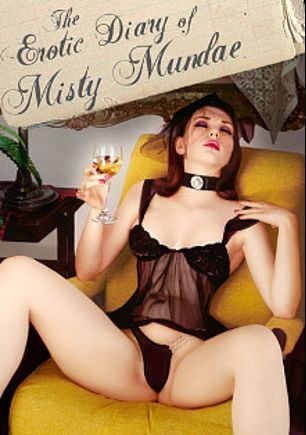 The Erotic Diary Of Misty Mundae, starring Misty Mundae, Ruby LaRocca, Anoushka, A.J. Khan and Darian Caine, produced by Seduction Cinema.