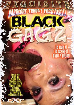 "Adult entertainment movie ""Black Gag 2"" starring Michelle Avanti, Miss. Meadow & Meadow. Produced by EXP Exquisite."