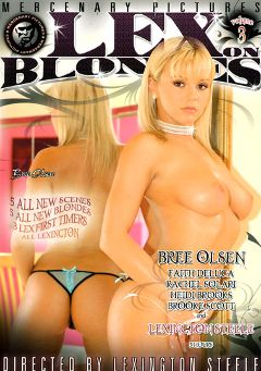 "Adult entertainment movie ""Lex On Blondes 3"" starring Bree Olson, Rachel Solari & Heidi Brooks. Produced by Mercenary Pictures."
