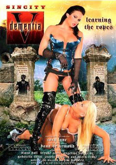 "Adult entertainment movie ""Dementia 5"" starring Brooke Scott, Tory Lane & Angelina Valentine. Produced by Sin City."